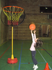 Kid Playing Basketball Image